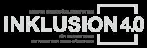 Logo Inklusion 4.0 in grau